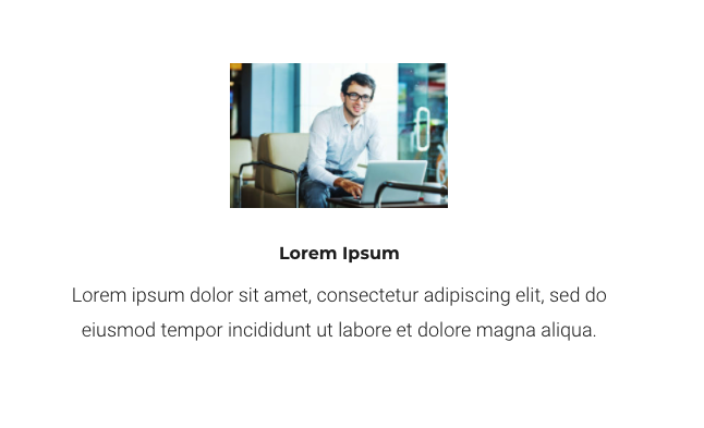 Showing the divi blurb image at 200px