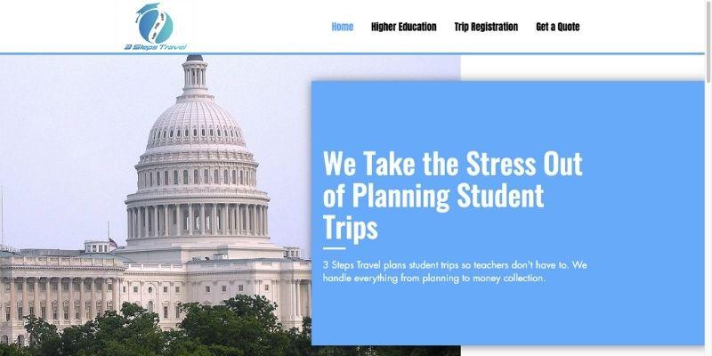 3 Steps Travel Screenshot