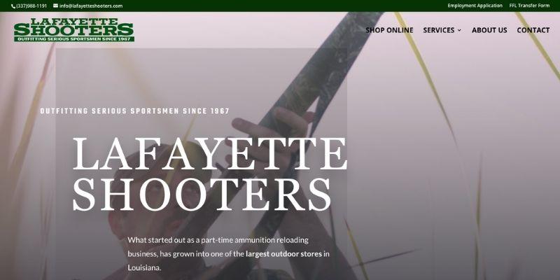 Lafayette Shooters Screenshot