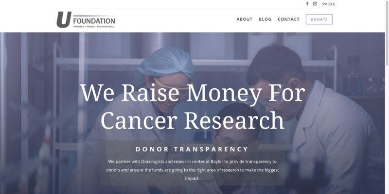 U Foundation Screenshot