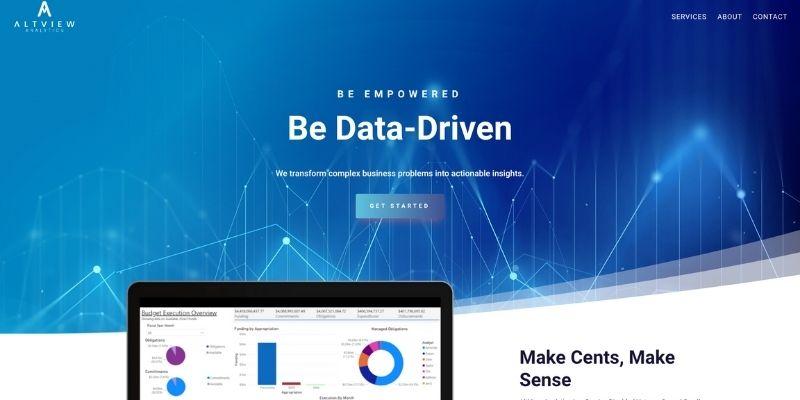 Altview Website Mockup